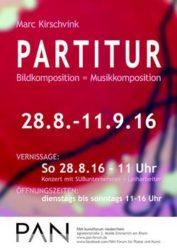 Plakat Partitur 2016